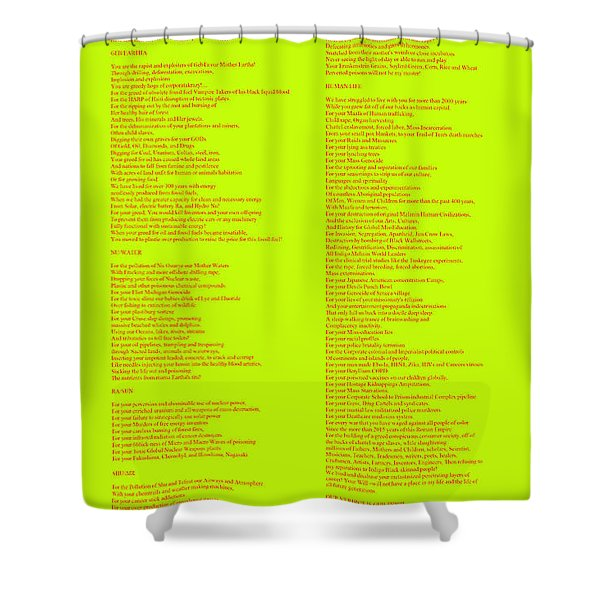 The Verdict Shower Curtain