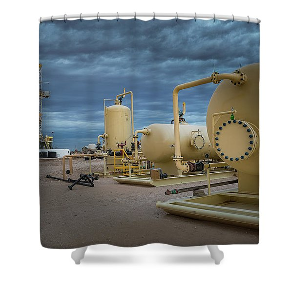 The Vessel Shower Curtain