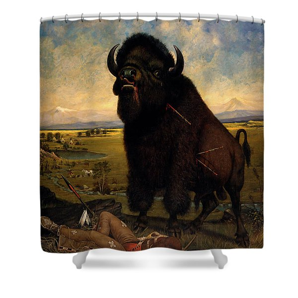 The Victor Shower Curtain