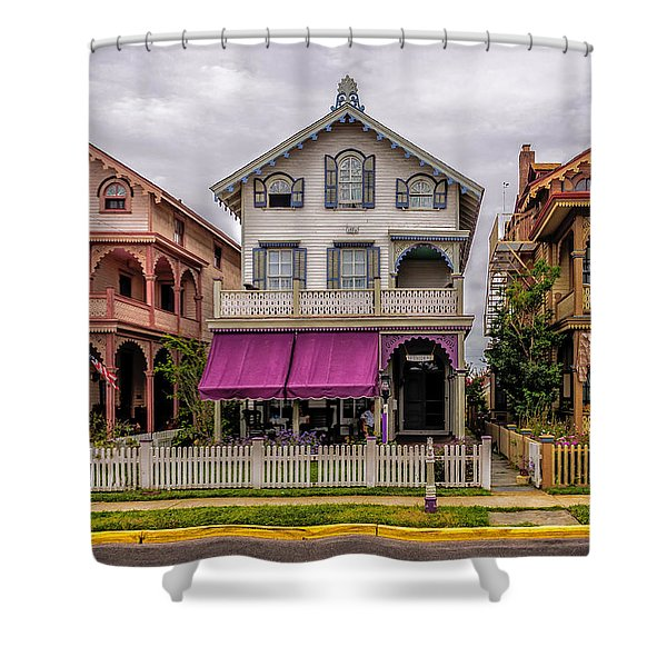 The Victorian Style  Shower Curtain