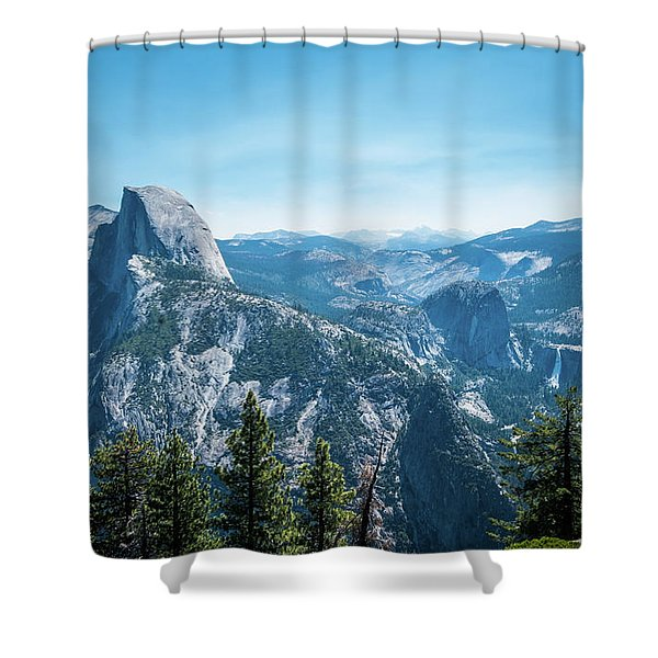 The View- Shower Curtain