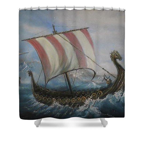 The Vikings Shower Curtain