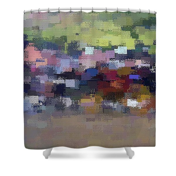 The Village Shower Curtain