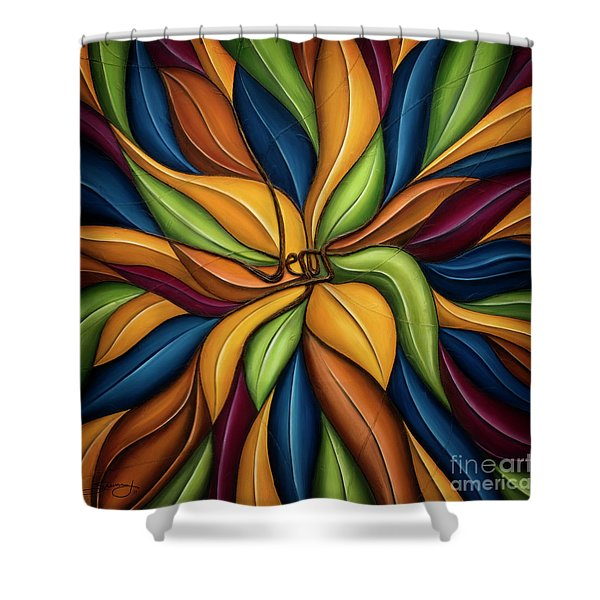 The Vine Shower Curtain