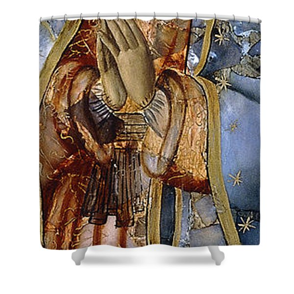 The Virgin Of The Guadaloupe Shower Curtain