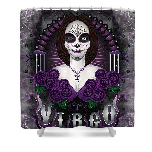 The Virgin Virgo Spirit Shower Curtain