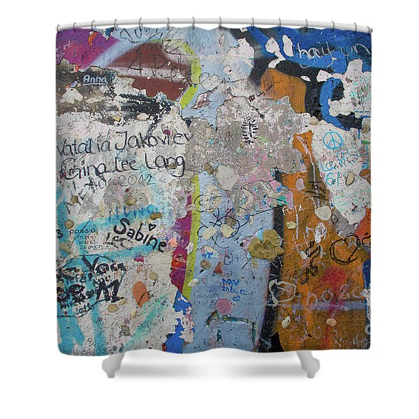 The Wall #10 Shower Curtain