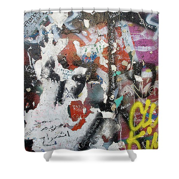 The Wall #11 Shower Curtain
