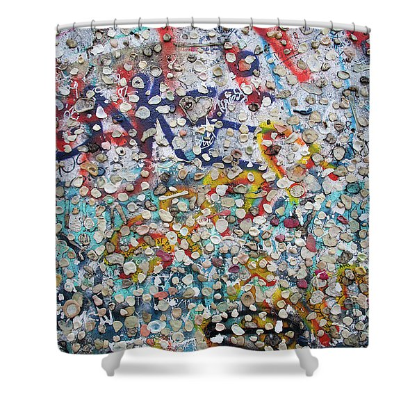 The Wall #2 Shower Curtain