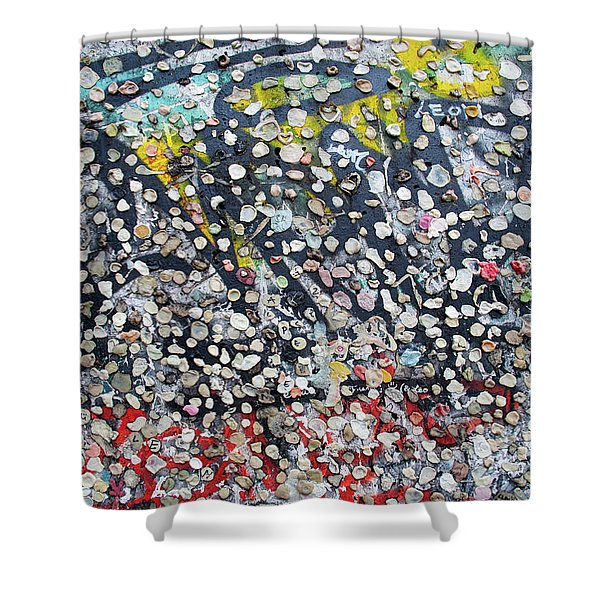 The Wall #5 Shower Curtain