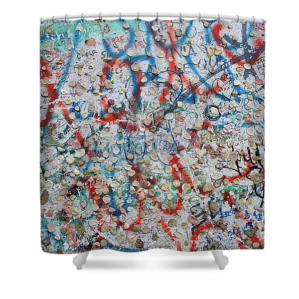 The Wall #7 Shower Curtain