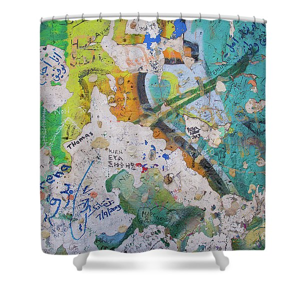 The Wall #8 Shower Curtain