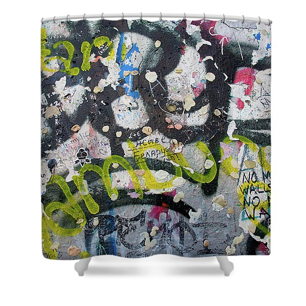 The Wall #9 Shower Curtain
