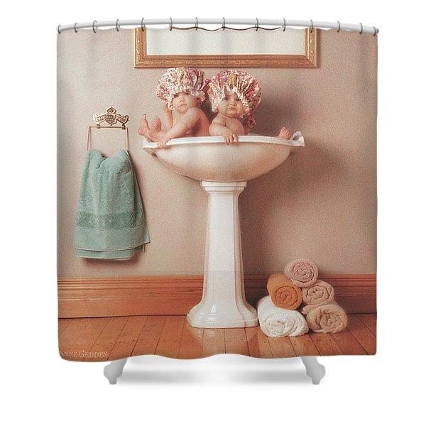 The Washbasin Shower Curtain