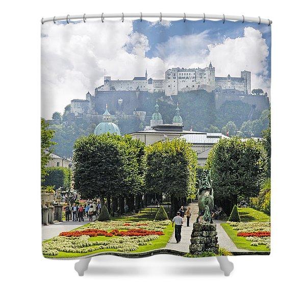 Stunning Salzburg Shower Curtain