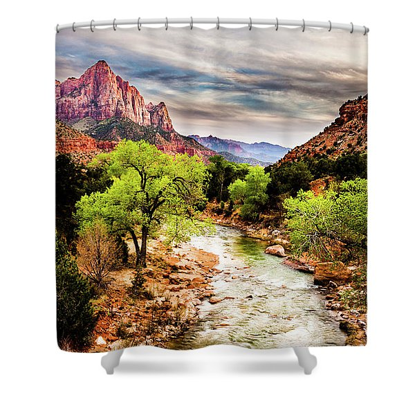 The Watchman 2 Shower Curtain