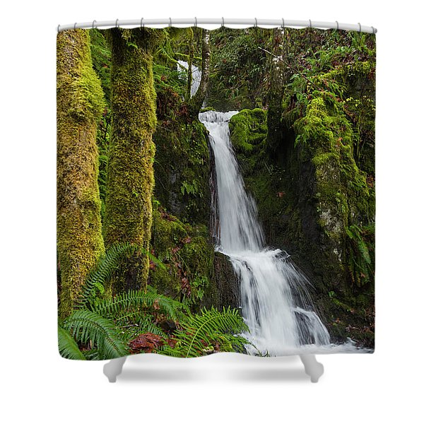 The Water Staircase Shower Curtain