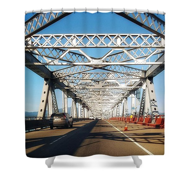 The Way To New Orleans Shower Curtain