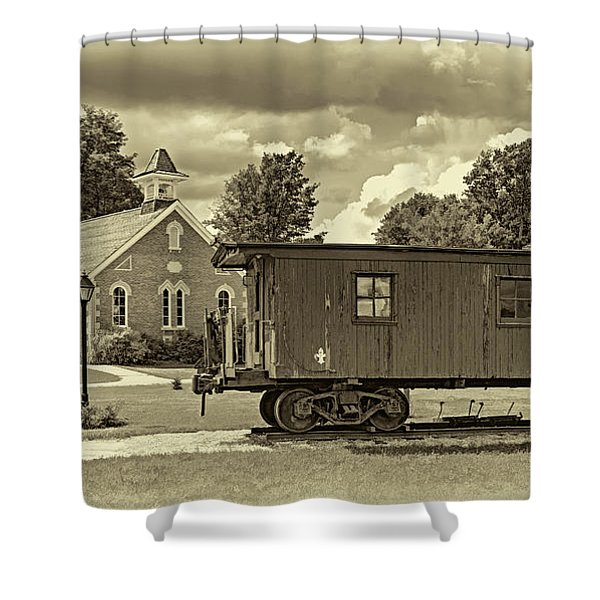 The Way We Were - Sepia Shower Curtain