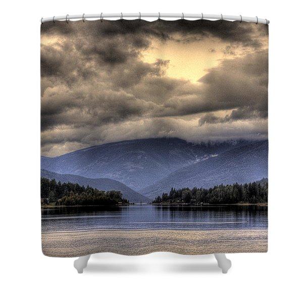 The West Arm Of Kootenai Lake Shower Curtain