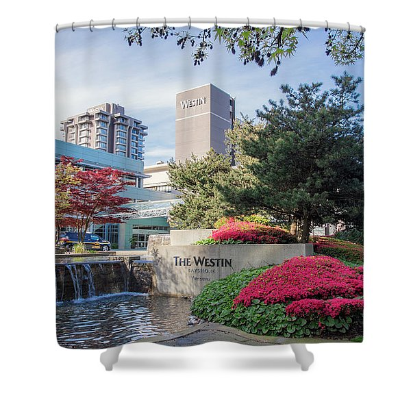 The Westin Bayshore Hoel Shower Curtain