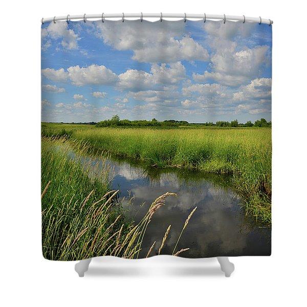 The Wetlands Of Hackmatack National Wildlife Refuge Shower Curtain