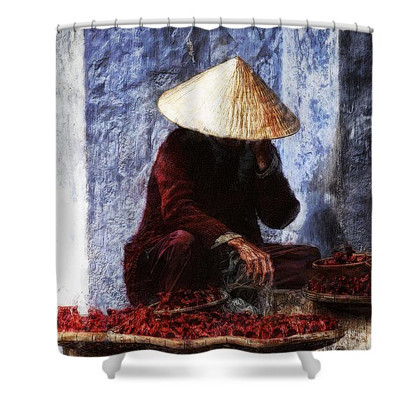 The Whistler Shower Curtain