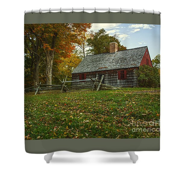 The Wick House Shower Curtain