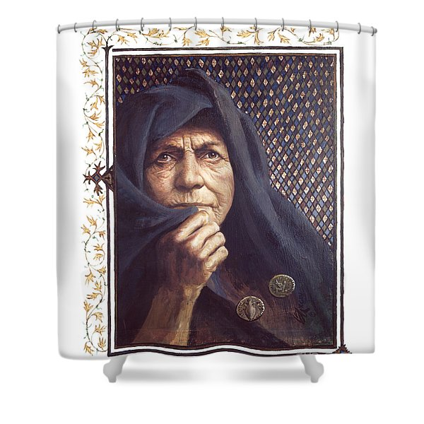 The Widow's Mite - Lgtwm Shower Curtain