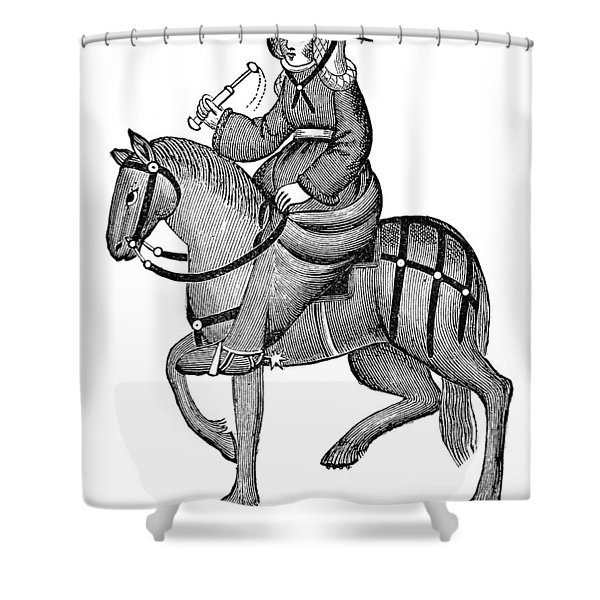 The Wife Of Bath Shower Curtain