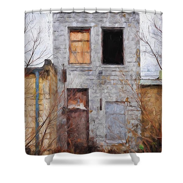 The Wink Shower Curtain