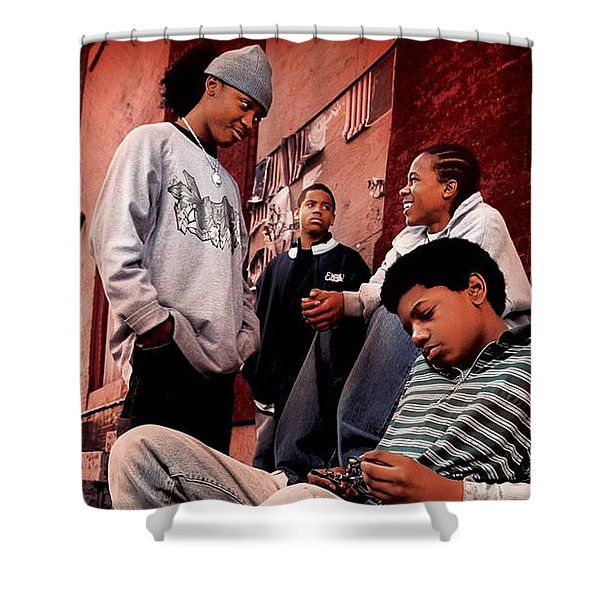 The Wire Shower Curtain
