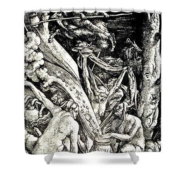 The Witches At The Sabbath Shower Curtain