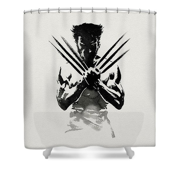 The Wolverine Shower Curtain
