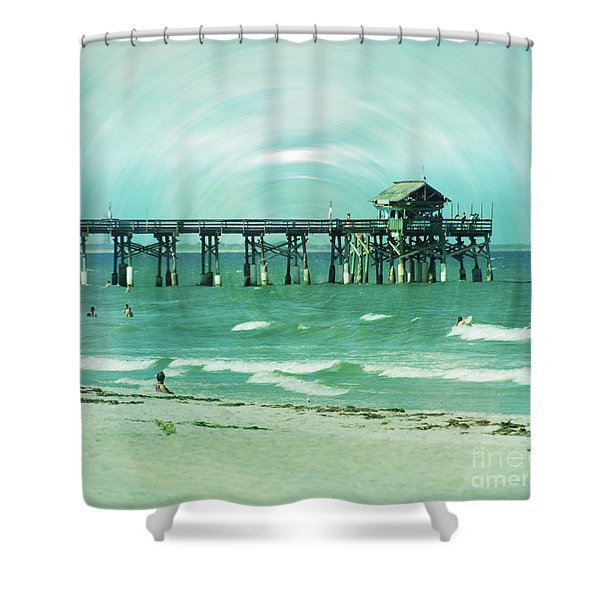 The World Is Still Here Shower Curtain