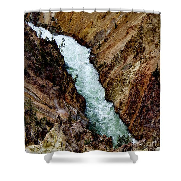 The Yellowstone Shower Curtain