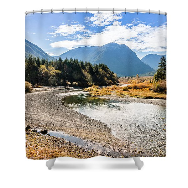 Thelwood Creek Fall Shower Curtain
