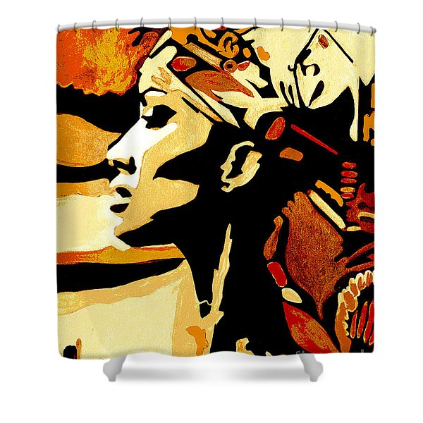 Then As It Was Then Again It Will Be Shower Curtain