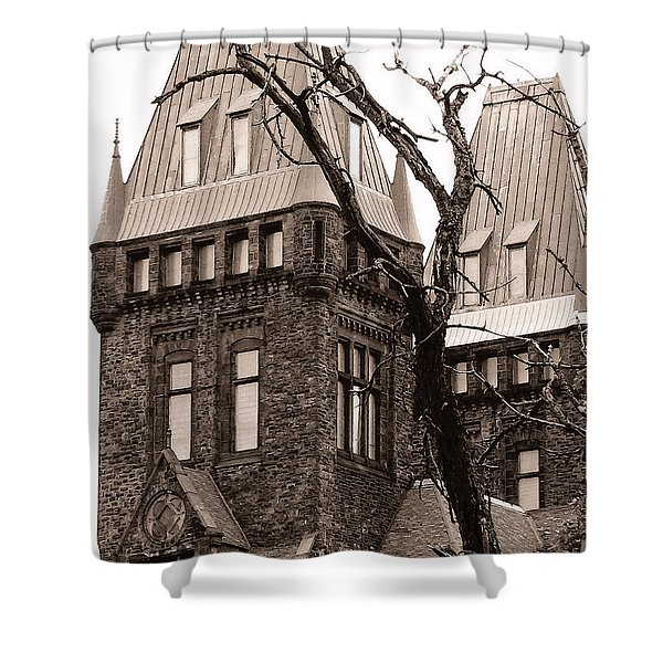 Then The Dream Wakes Me Shower Curtain