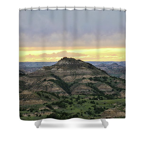 Theodore Roosevelt National Park, Nd Shower Curtain