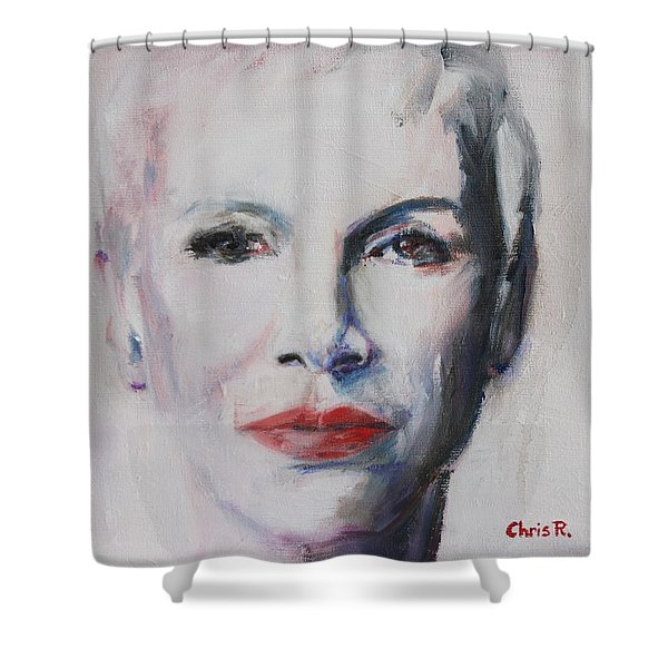 There Must Be An Angel Shower Curtain