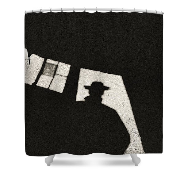 There's A New Sheriff In Town Shower Curtain