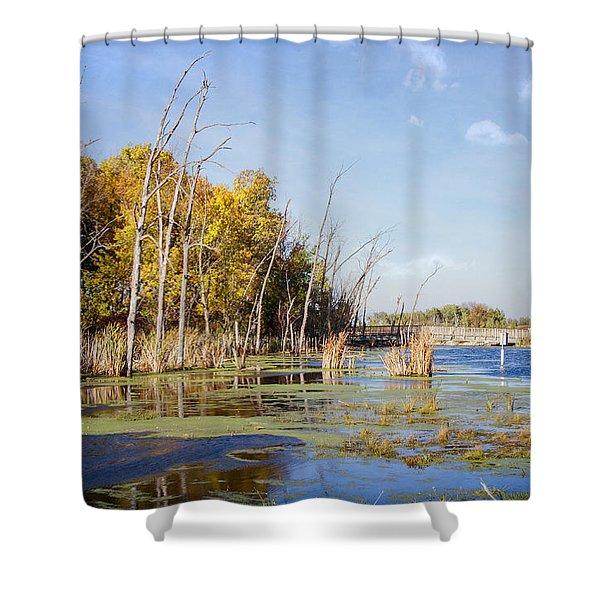 Horicon Marsh 9 Shower Curtain
