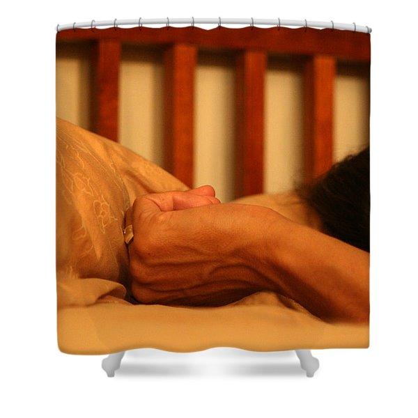 026 - Theresa's Hand Shower Curtain