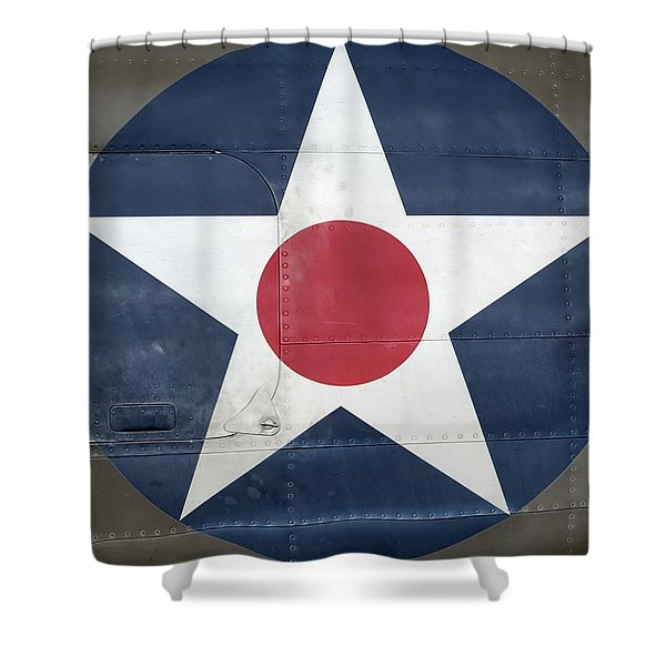 These Colors Don't Run - 2016 Christopher Buff, Www.aviationbuff.com Shower Curtain