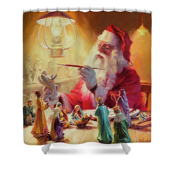 These Gifts Are Better Than Toys Shower Curtain