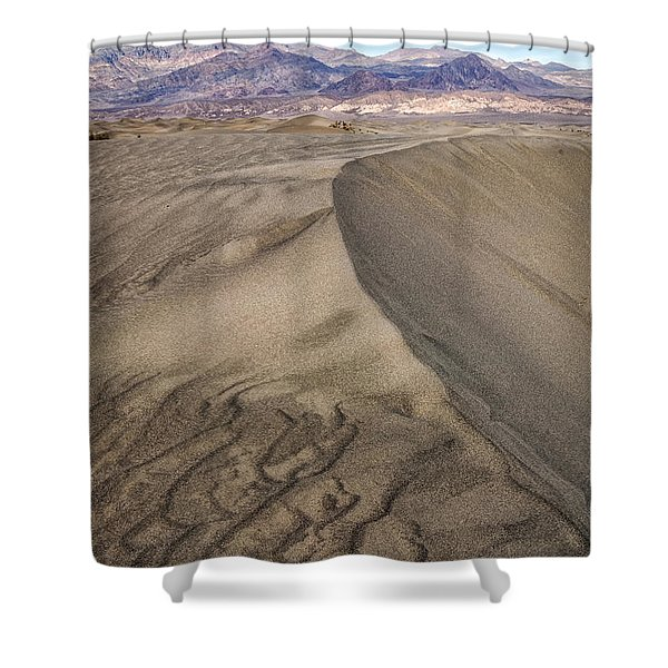 These Lines Shower Curtain