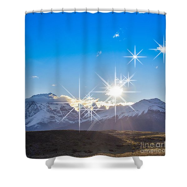 They're Here Shower Curtain