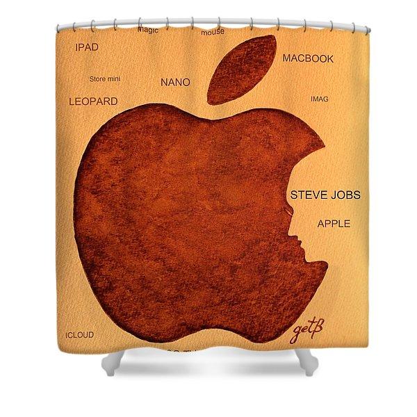 Think Different Steve Jobs 2 Shower Curtain