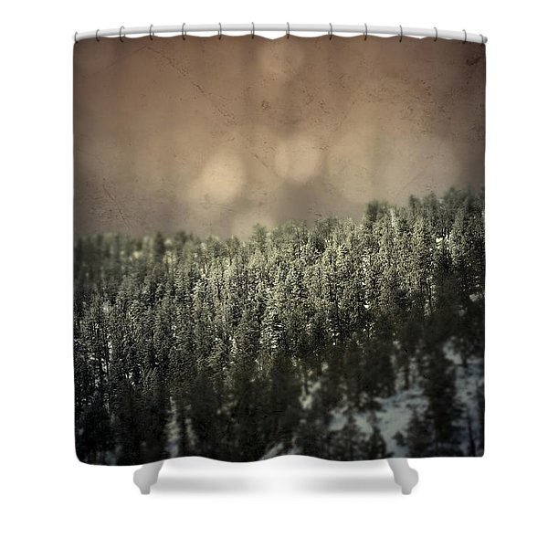 Third Breath  Shower Curtain
